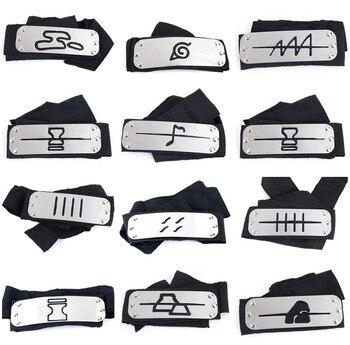 Protectores Frontales de Naruto Shippuden(Varias aldeas) Cosplay Merchandising de Naruto