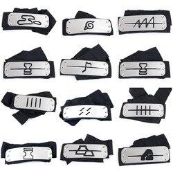 Naruto Kakashi headband cosplay Acessórios Adereços brinquedos Itachi akatsuki madara Anime Adereços headband do Hot