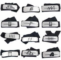 Naruto Kakashi stirnband cosplay Kostüme Zubehör spielzeug Requisiten Itachi akatsuki madara Anime stirnband Requisiten Heißer