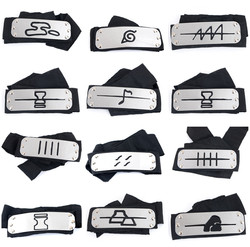 Naruto kakashi bandana cosplay trajes acessórios brinquedos adereços itachi akatsuki madara anime bandana adereços quente