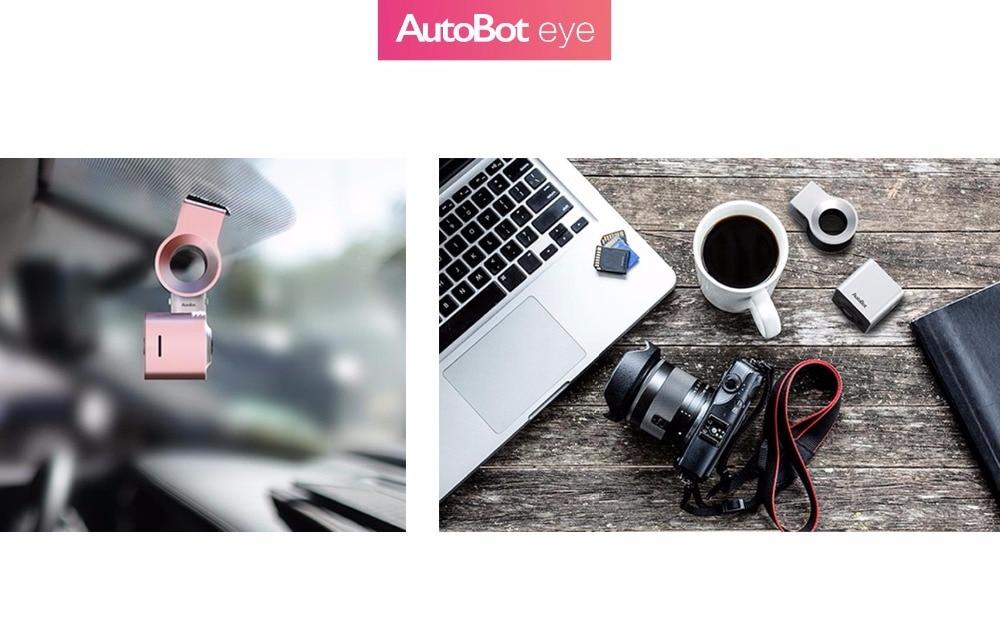 Autobot olho dashcam inteligente carro dvr câmera novatek96655 sony imx322 1080 p 150 graus wifi wdr visão noturna estacionamento modo tiro - 6