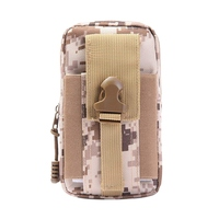 new Outdoor Hiking   Running   Waist Bag Large Capacity Portable Camouflage Mini Soft Waistband Bag for Phone Cash