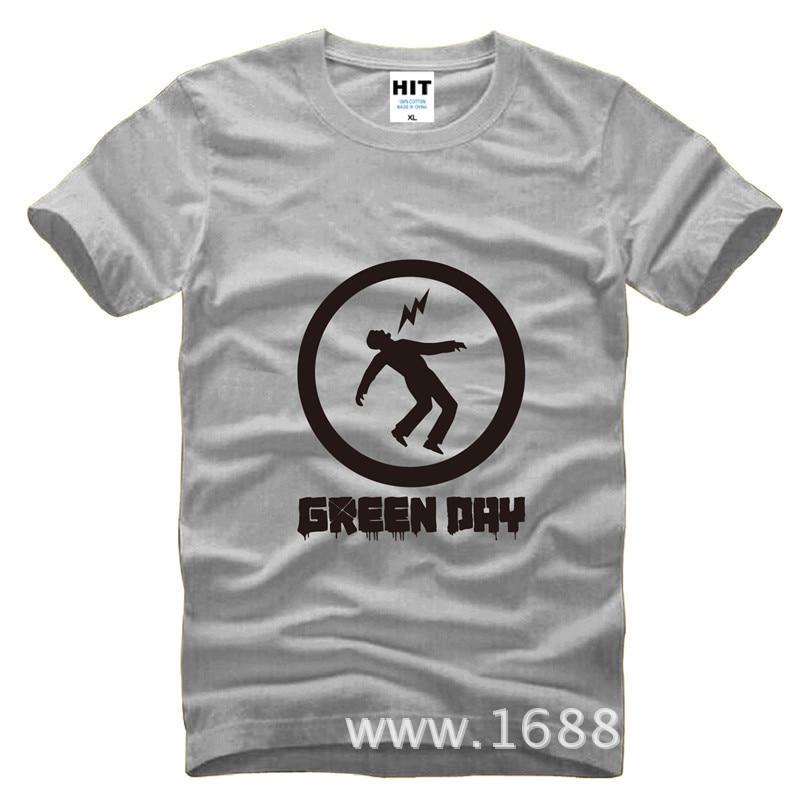 Green Day Punk Printed Mens Men T Shirt Tshirt Fashion