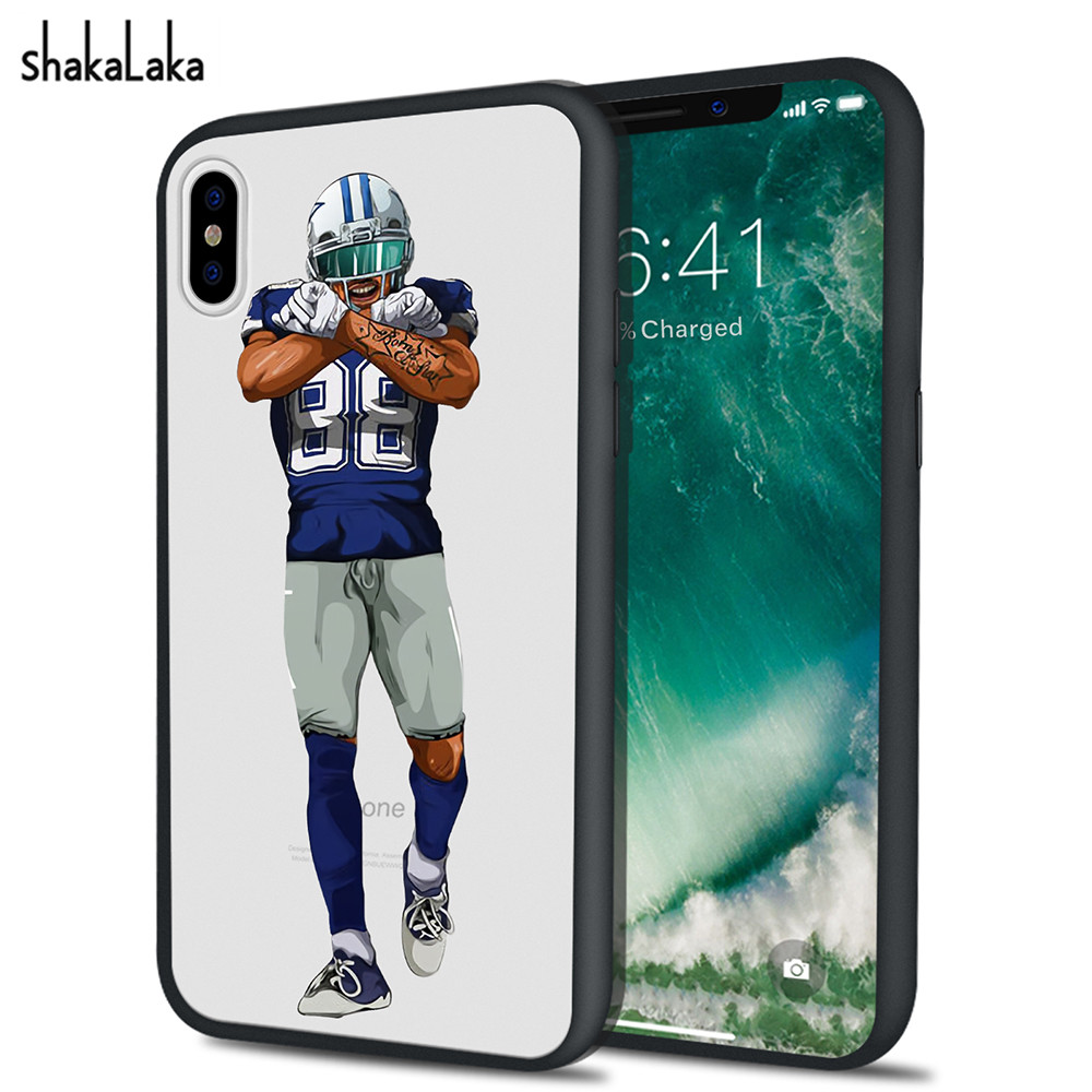 Cartoon Soccer Football Player Hard Back Phone Case For iPhone X 6 6s 7 8 Plus 5 5s SE Cute Pose Fundas Capas Coque Back Covers