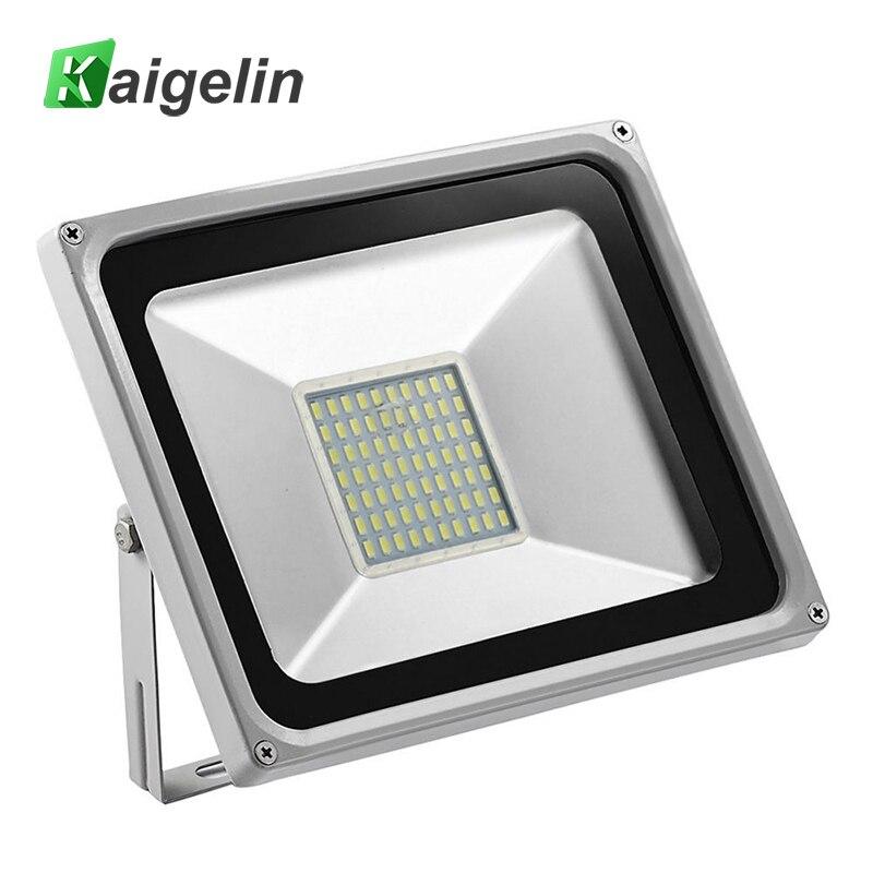Ultra vékony 50W-os LED-es árvíz fény 220-240V 5500LM IP65 vízálló LED-es világítás SMD5730 LED-es világítás a kültéri kerti világításhoz
