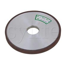 #180 ziarno diamentowe płyty kształt płaskie ściernica do cięcia 125*8*32mm tanie tanio 180# SYLIFE 150*10*32