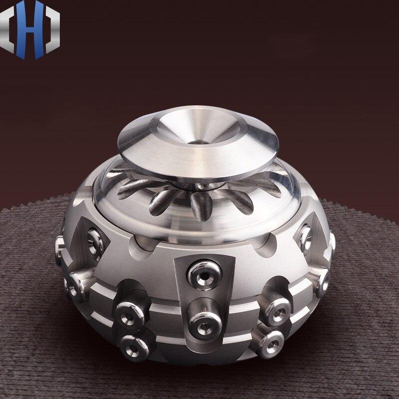 Орган коробка 304 нержавеющая сталь EDC 6 Колонка замок Коробка для хранения мелочи ремесла украшения подарки