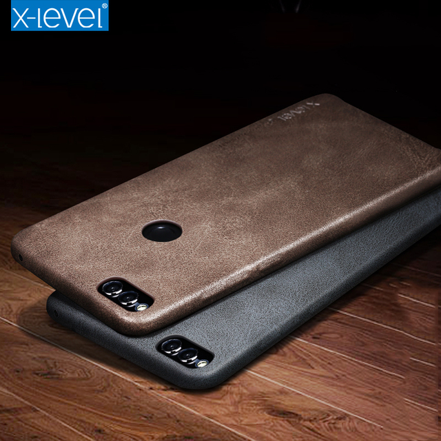 best sneakers 325a7 35283 US $10.8 |X Level For Huawei Honor 7X Case Vintage PU Leather luxury Back  Cover Case For Huawei 7X Phone Bag Coque Capa Funda-in Fitted Cases from ...