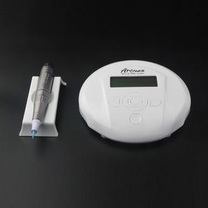 Image 3 - Dropshipping 2019 Permanent Makeup Microneedles Machine V6 Eye Brow Lip Rotary Pen MTS PMU System Needle Skin Care Tool