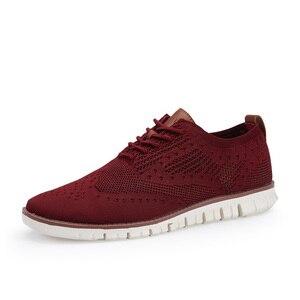 Image 4 - Men Shoes 2019 Flats Breathable Mens Fashion Classic Sneakers Casual Shoes Male Summer Mesh Tenis Zapatos De Hombre Big Size 46