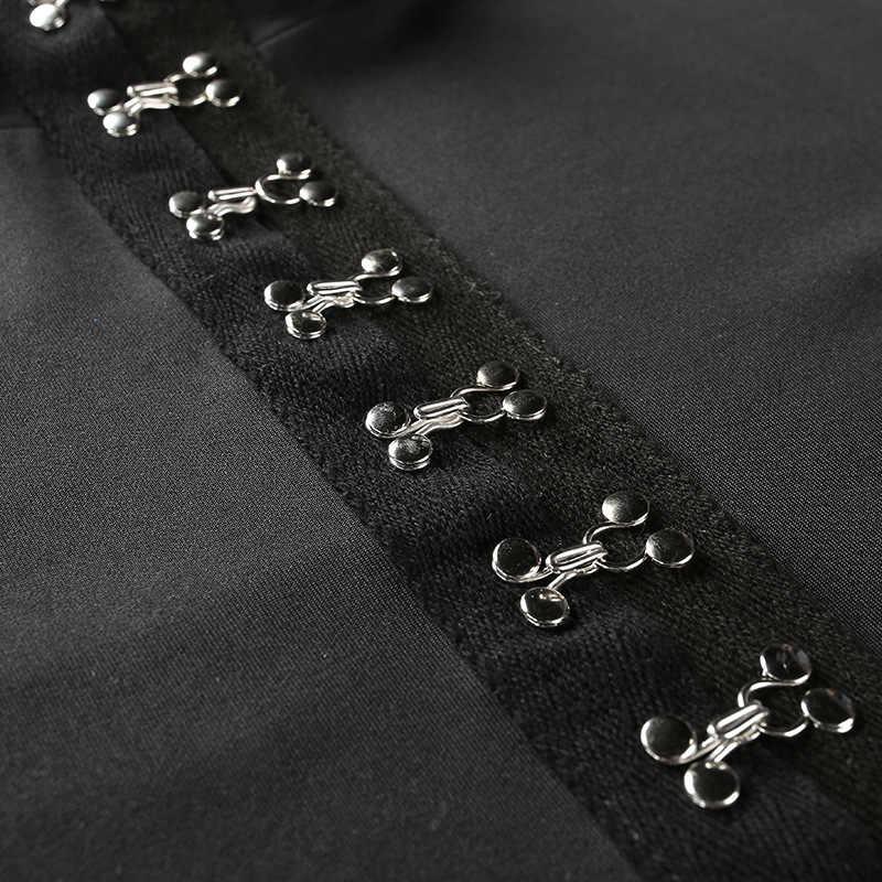 Simenual осенние боди на пуговицах комбинезоны модные черные с длинным рукавом сексуальный женский гимнастический костюм комбинезон Половина Водолазка Женское боди