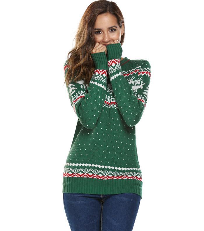 HTB1gSUmSFXXXXajXpXXq6xXFXXXJ - Women Christmas Jesus Print Sweaters Casual Long Sleeve Autumn O Neck Deer Print Slim Pullover Sweater Winter Tops PTC 289
