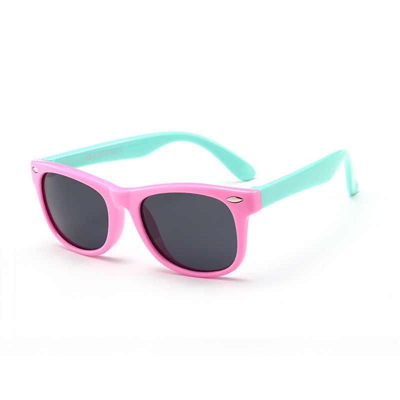 Silicagel polariserende zonnebril voor kinderen; cartoon zonnebril voor jongens en meisjes; Gepersonaliseerde Baby bril voor kinderen
