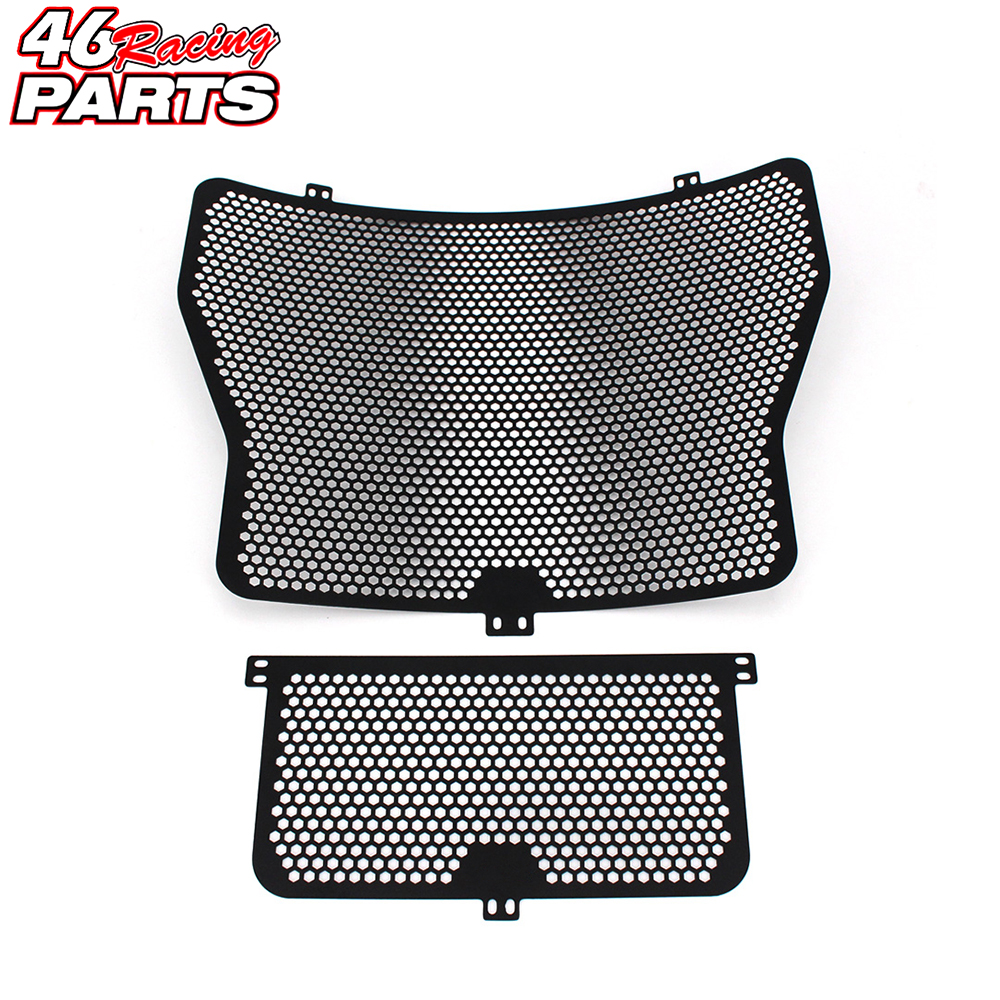 Black High Quality Motorcycle Radiator Guard Protector Grille Grill Cover For BMW S1000R S1000RR HP4 S1000XR