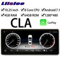 LiisLee Car Multimedia GPS Audio Radio For Mercedes Benz MB CLA Class C117 180 200 250 2013~2018 Original Style Navigation NAVI