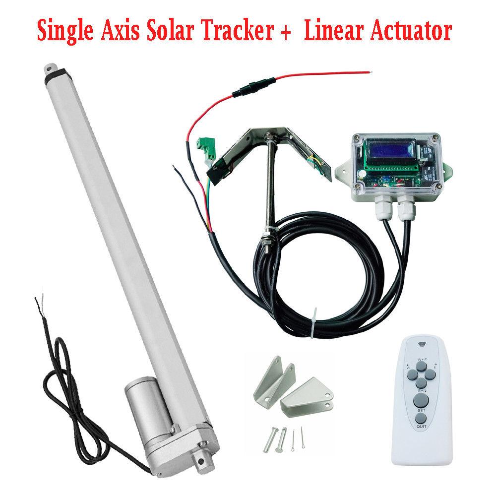 Kit de suivi solaire à axe unique Tracking14