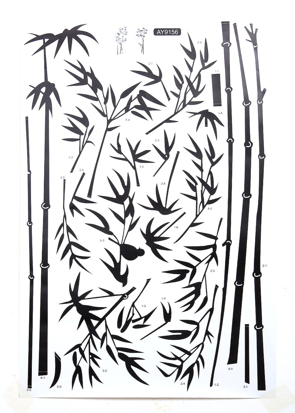 Bamboo wall decals murals images home wall decoration ideas ink painting bamboo wall decor diy removable art vinyl black ink painting bamboo wall decor diy amipublicfo Gallery