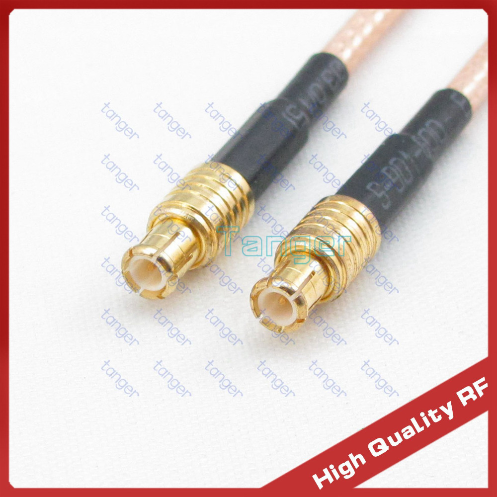 Tanger HOT Selling MCX male plug to MCX male plug with RG316 3feet 100cm RF Coaxial Pigtail Jumper Low Loss cable High Quality new digital052 bl camera case for canon sony nikon samsung camera more