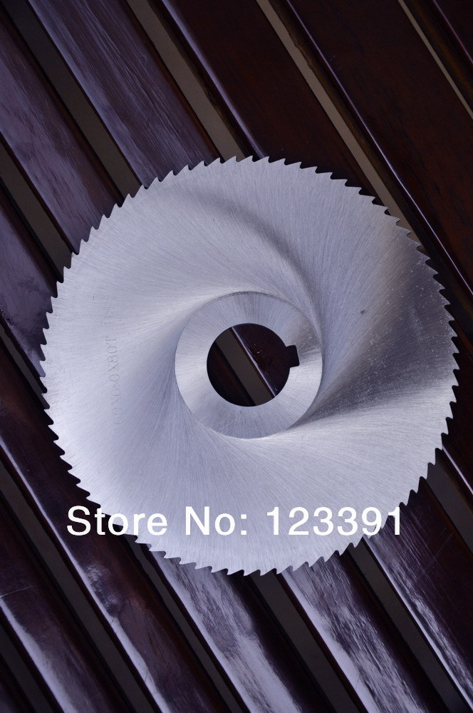 Free Shipping Of 10pc W6Mo5Cr4V2/DM05/M2 100mm*32mm*0.5MM HSS Cutting Disc For Cutting Steel/Faucet/ Non Ferrous Metal Etc