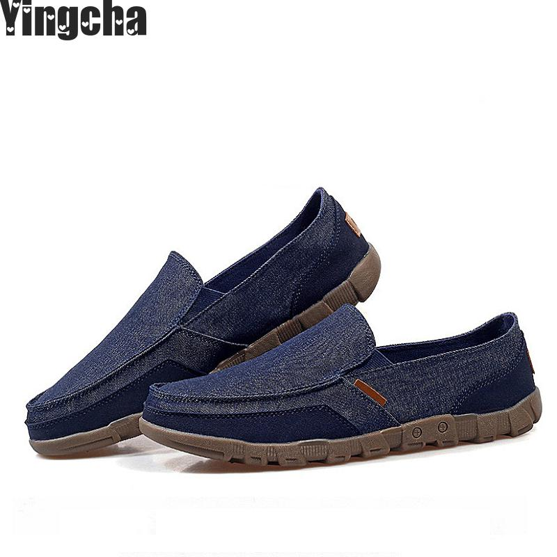2018 New Arrive Style Men Casual Shoes Loafers High Quality Men Shoes Canvas Male Footwear Comfortable Flat Shoes For Men high quality canvas men casual shoes breathable fashion footwear male loafers shoes black mens shoes sales flats walking shoes