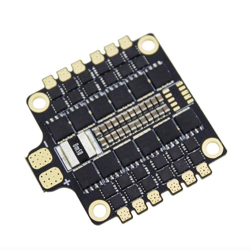 1 pc hakrc blheli 32 bit 50a 4 em 1 módulo esc 5 v/3a controle de velocidade eletrônico para rc zangão fpv aeronaves peças de reposição acesso - 4