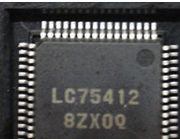 LC75412 new original spot directly