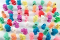 20pcs/lot good Cupule kids Cartoon Animal Action Figures toys Sucker kids Mini Suction Cup Collector Capsule model