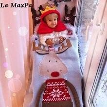 Navidad mantas de bebé infantil niños de lana manta niños Toalla de baño  encantador bebé recién nacido Ropa de cama Props bebé m. 5fd86ae7407