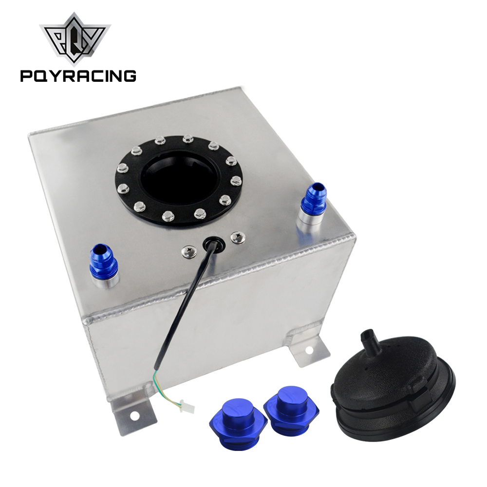 PQY 20L Aluminum Fuel Surge tank with Without sensor Fuel cell 20L with cap foam inside