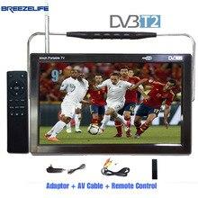 Breezelife TV Portable TV DVBT2 TV Portable 9 pouce 10 pouce DC12 Numérique Portable HD TNT HDMI Entrée pour Voiture Portable TV