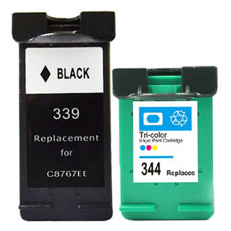 Compatible for hp 339 344 ink cartridge for officejet6120 for Ink sale
