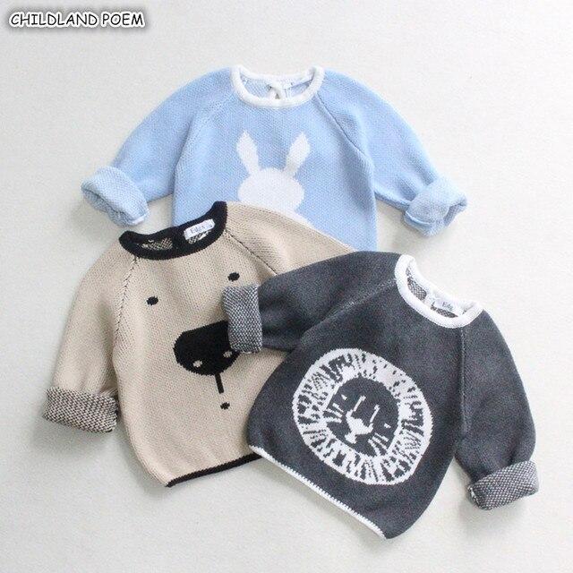 df7445c225 Comprar Blusas bebê Meninos Primavera Cardigan Animal Dos Desenhos ...