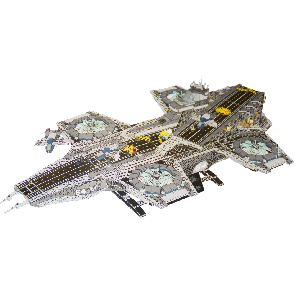 07043 Super Heroes series The shield Helicarrier Model Building Blocks Compatible original 76042 classic toys for children dhl lepin 07043 3057pcs super heroes the shield helicarrier model building kits blocks bricks boy toys compatible 76042