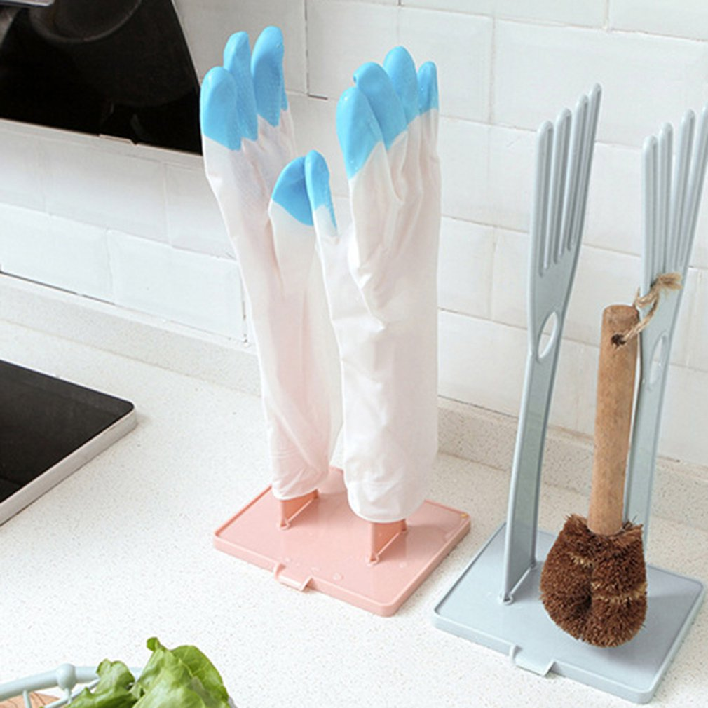 Кухонные многофункциональные резиновые перчатки сушилка держатели для хранения полотенец сушильная подставка Оригинальные кухонные принадлежности