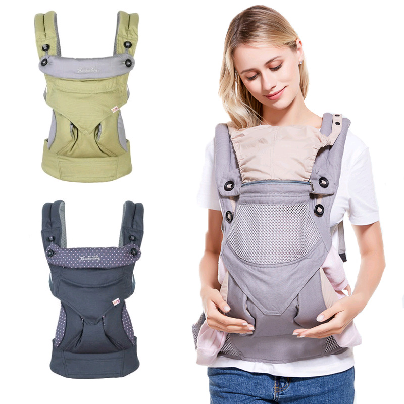 Ergonomic Baby Carrier Backpack Hipseat for Newborn Toddler Carrier Wrap Portable Baby Wrap Sling for Trave 3-36M Kangaroos