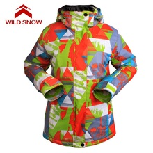 2017 New WILD SNOW Brand women snowboard jackets Winter Mountain Skiing Clothes waterproof