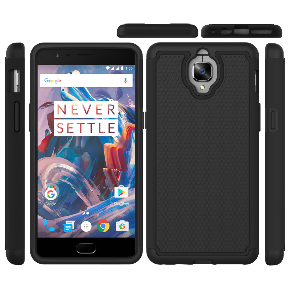 cheaper b6af0 55ce6 US $4.74 5% OFF|Oneplus 3T OnePlus3 Rugged Impact armor Hybrid heavy duty  Phone Case Cover for OnePlus3/Oneplus 3/one plus three shockproof case-in  ...