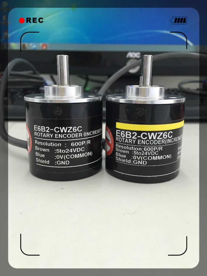 Photoelectric rotary encoder E6B2-CWZ6C 600P/R цены онлайн