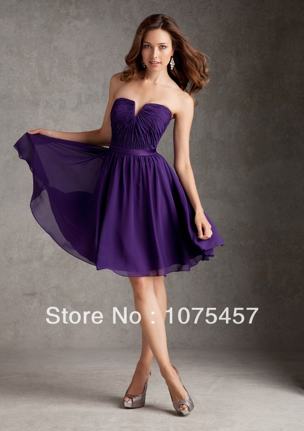 Online Get Cheap Violet Bridesmaid Dresses -Aliexpress.com ...