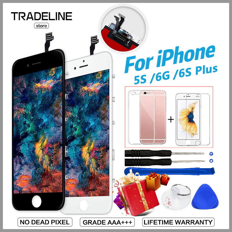 Apple iPhone 5 Nero Schermo E Digitalizzatore Montaggio Touch Screen