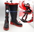 New RWYB ruby rose cosplay shoes RWBY Anime Boots High Quality Custom-made