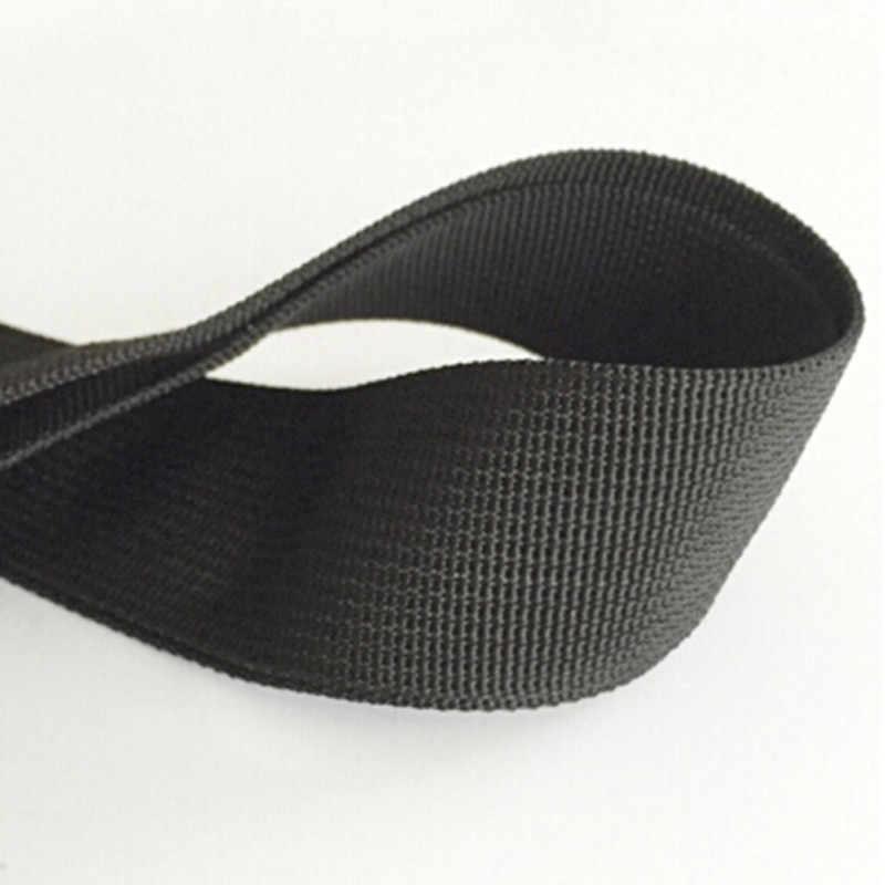 Черная нейлоновая сумка на ремне для мужчин, крепкий плечевой ремень, мужской портфель, сумка для ноутбука, длина ремня, сумка, аксессуар 3,8x145 см