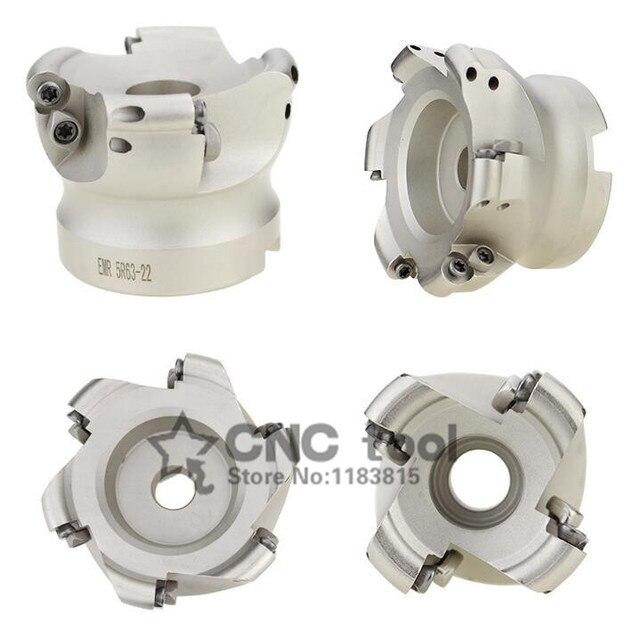 EMR 6R 50 22 4T EMR 6R 63 22 4T EMR 6R 80 27 5T EMR 6R 100 32 6T Face Mill เครื่องกัด CNC milling เครื่องมือสำหรับรอบแทรก
