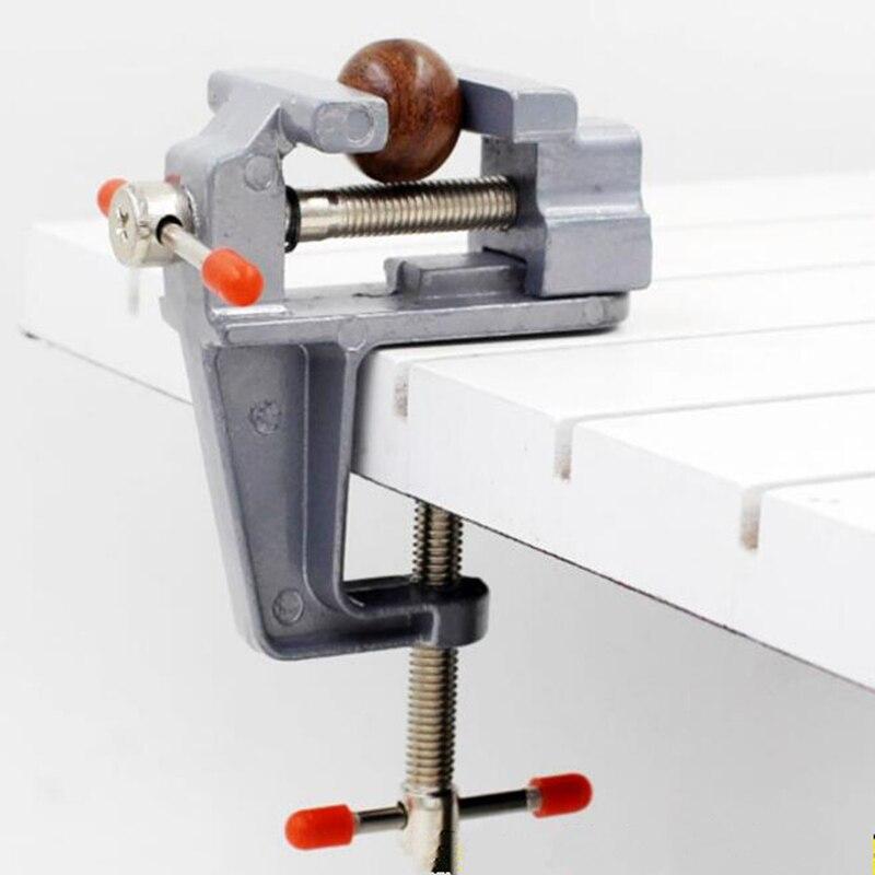Universal Mini vise bench clamp Aluminium Alloy Table Vise bench DIY Craft mould Fixed Repair Tool Hardware