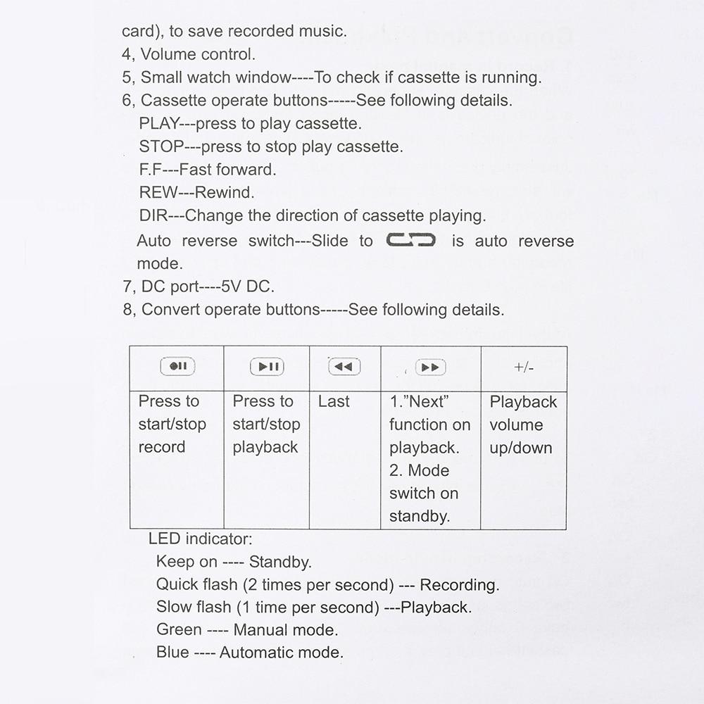 Compre Cassete Para MP3 Conversor Fita USB Para Music Player