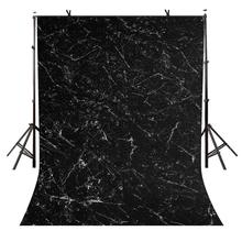 5x7ft Marble Texture Backdrop Minimalistic Black Photographic Background and Studio Photography Props