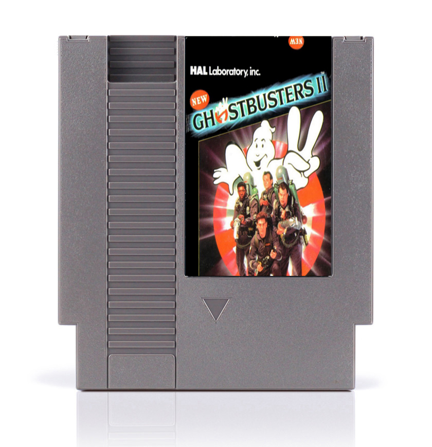 New Ghostbusters II 8 Bit <font><b>Game</b></font> <font><b>Card</b></font> for <font><b>72</b></font> <font><b>Pins</b></font> <font><b>Game</b></font> Console image