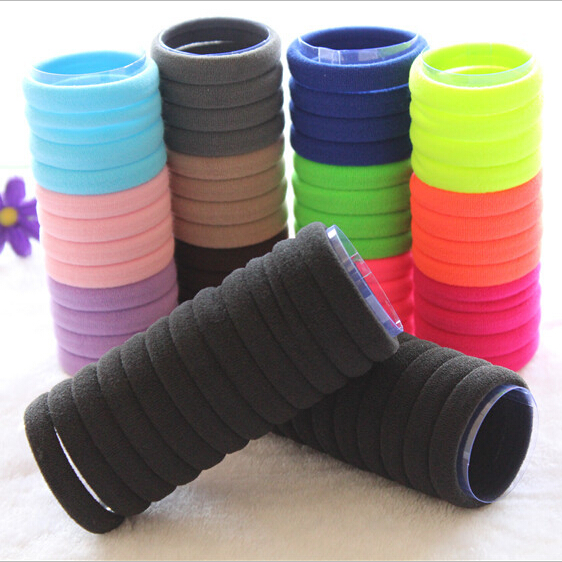 20 pcs/lot Mix Color Elastic Hair Rubber Band Ties Ring Accessories For Women Girls Children Baby Hair Bands Gum Scrunchy ST-76 50pcs black hairband hair elastic bands for ladies elastic ring hair scrunchy tie gum headbands girls hair accessories for women