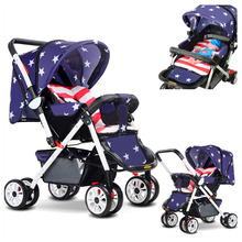 Portable Sit and Lie Baby Umbrella Stroller Baby Carriage fo