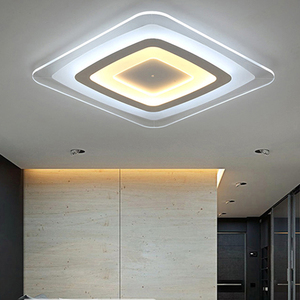 Image 4 - חדש מודרני LED תקרת אורות עם 2.4G RF מרחוק קבוצת Dimmable נשלט צבע לשינה בסלון led תקרת מנורות